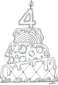 Digistamps4Joy Birthday PartyFreebie
