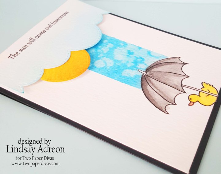 Using a Sketch to Design a Card — Introducing Two Paper Divas MonthlyChallenge