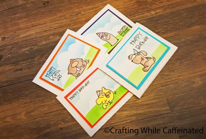 Creating a Quick Birthday CardSet