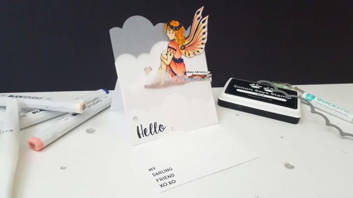 Digistamps4Joy Blog hop–Let's Make an EaselCard