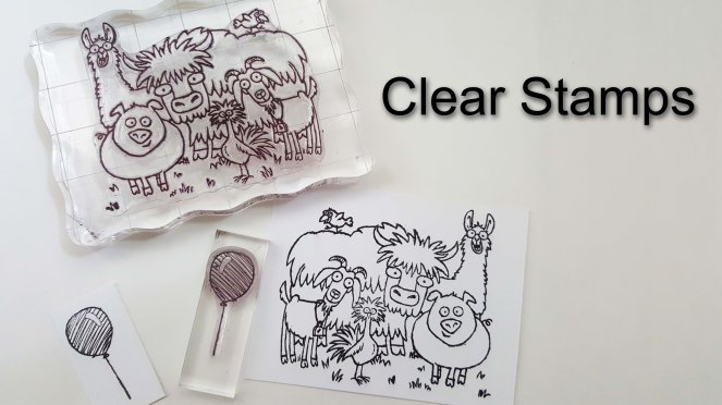 Clear Mount Stamps