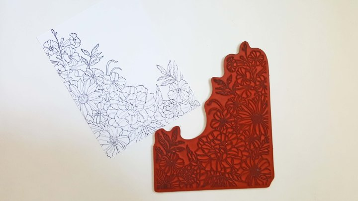 Cling Mount Background Stamps