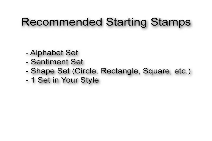 Recommended Starting Sets