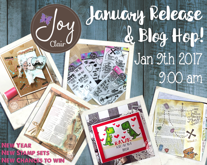 Joy Clair Stamps January Release BlogHop