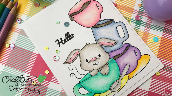 CAS Digital Stamped Card – Spring 2017 Coffee Lovers Blog Hop