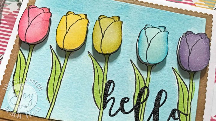 Layering Inks & Stamps with Joy ClairStamps