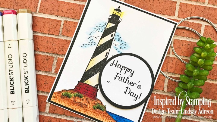 Quick & Easy Father's Day Card with Inspired by Stamping FREEBIE