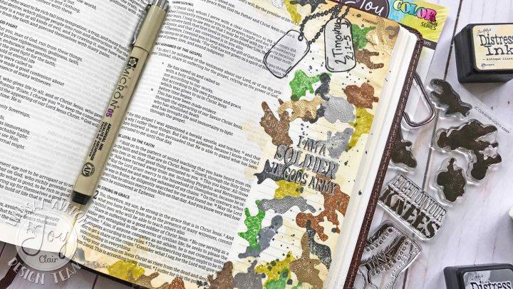 Bible Journaling : 2 Timothy2:1-5