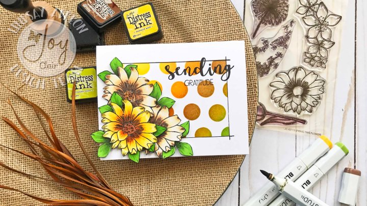 Joy Clair Stamps August Challenge – Layering Images
