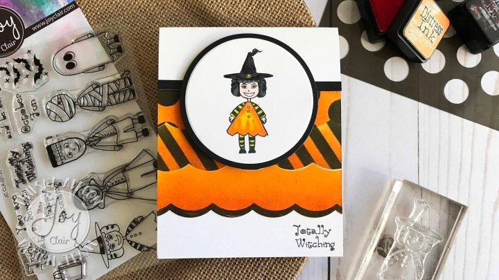 Joy Clair Stamps OctoberChallenge