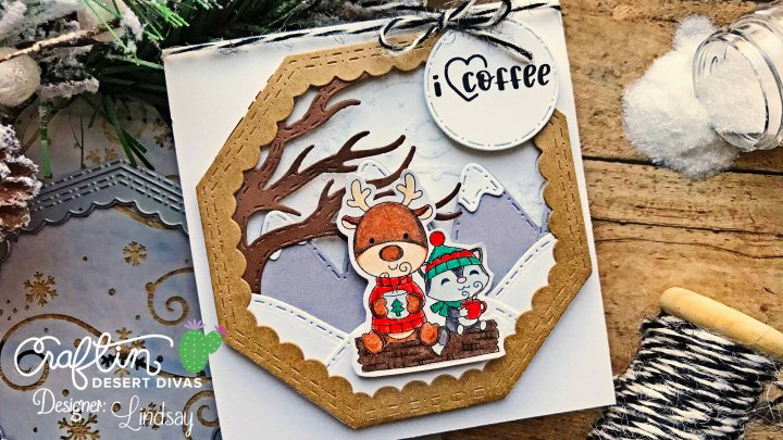 Winter Coffee Lovers Blog Hop with Craftin Desert Divas