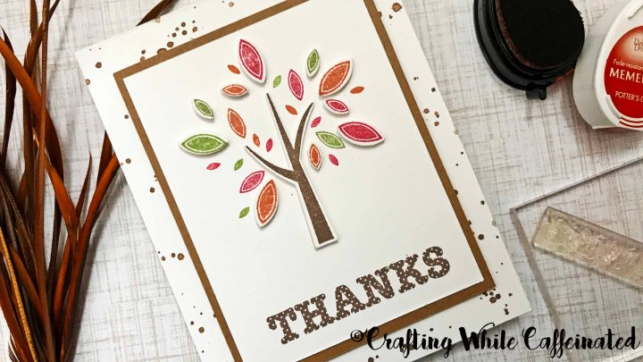 Making a Card with a Stamp Set under $6