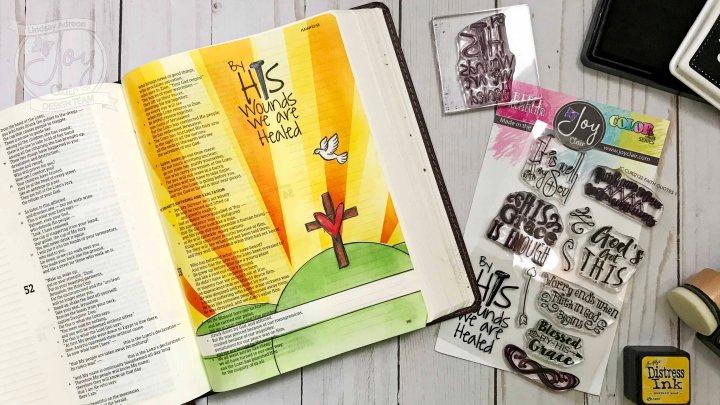 Bible Journaling & a MaskedSunset