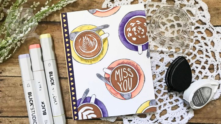 Using the Coffee Talk StampSet