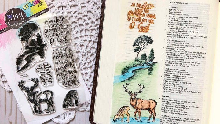 Foiling In BibleJournaling