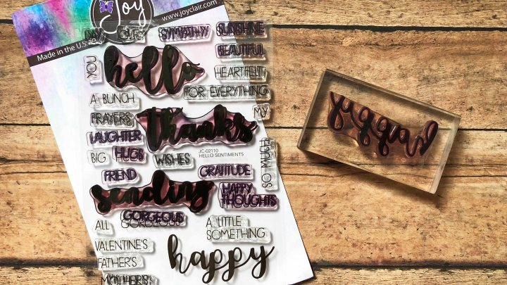 Deal With It – Cleaning ClearStamps