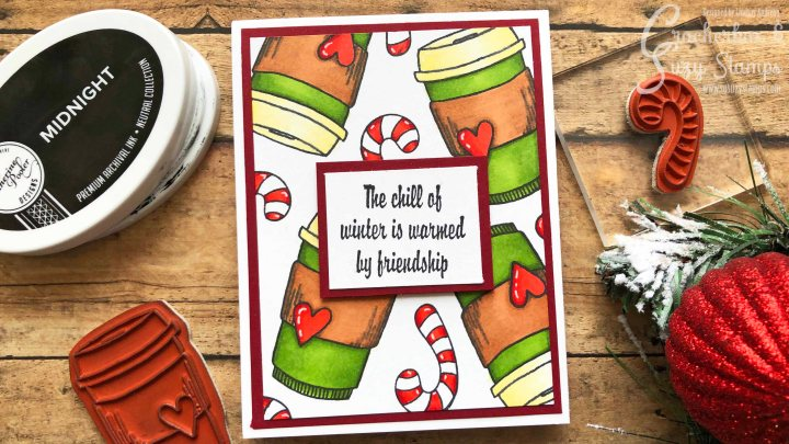 Winter Coffee Lover's Blog Hop with Crackerbox & SuzyStamps
