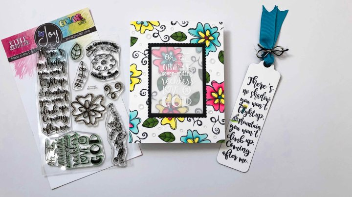 New Release with Joy Clair Stamps – Featuring RecklessLove