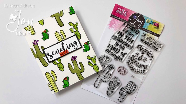 An easy watercolor background filled with fun cacti from the Blossom Stamp Set
