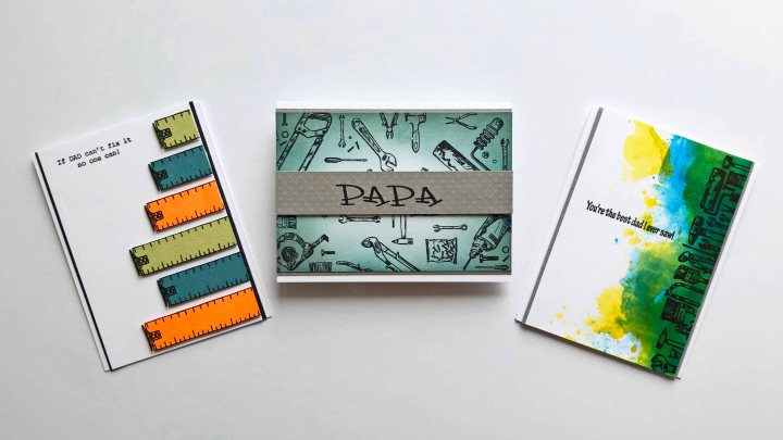 3 Simple Handmade Father's DayCards