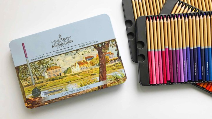 Schpirerr Farben Colored Pencils – A Review
