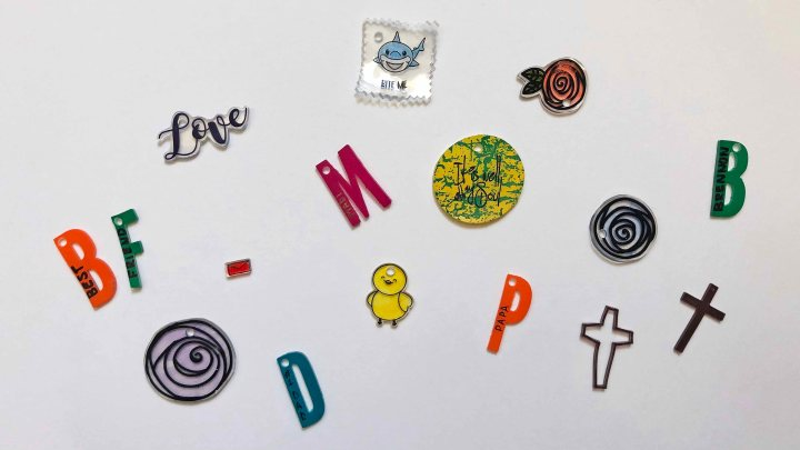 Crafting with Kids – Shrinkydinks