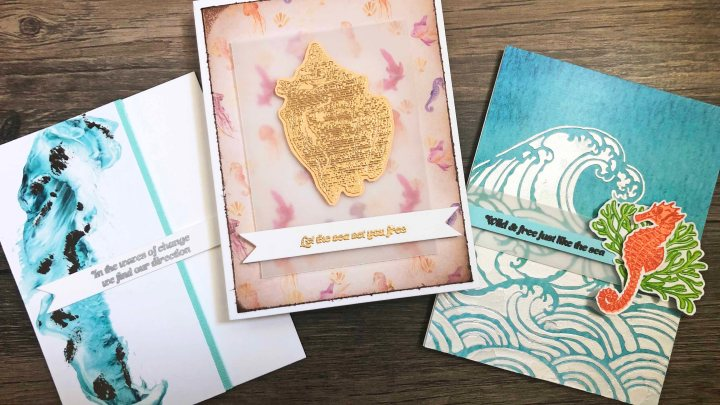 3 Ways to Alter & Embellish Patterned Paper with the HedgehogHollow