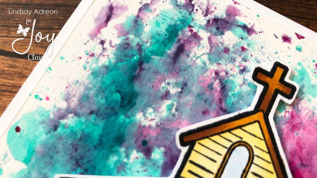 Smooshing with Liquid Watercolor
