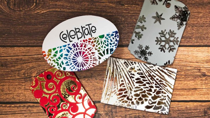 Foiling Wooden Tags