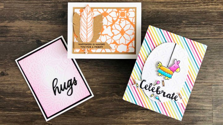 Dry Embossing with Stencils – A Video Tutorial