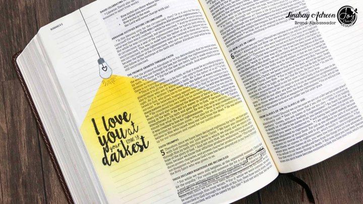 Bible Journaling — A VideoTutorial