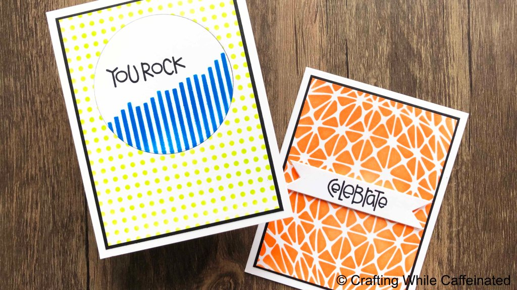 Creating cards for teen boys can be a challenge for me. I'm sharing a few quick and easy ideas in the video tutorial today.