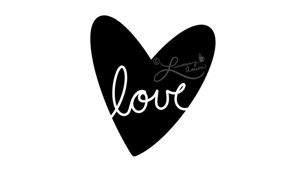 FREE Foiling Printable for Valetine's Day or Love Card
