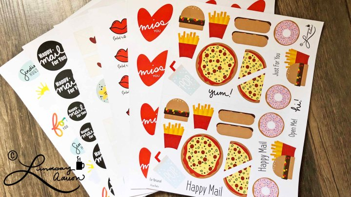 FREE Sticker Printables + How to Print and Use