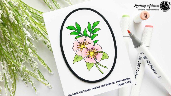 Introducing Joy Clair Stamps Spring FloralBasket