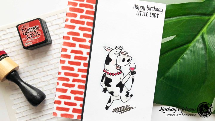 A Simple DIY Birthday Card with Joy Clair Stamps