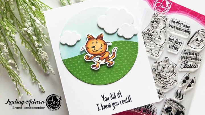 Spring Coffee Lovers Hop with Joy ClairStamps