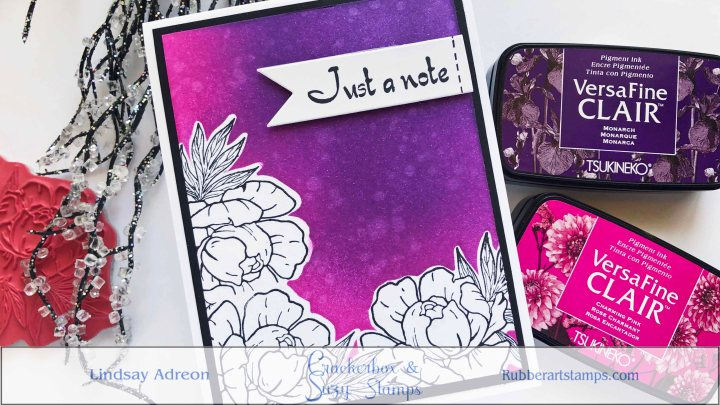 Easy Masking with Crackerbox & Suzy Stamps