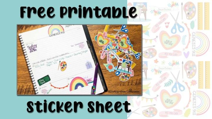 FREE Printable StickerSheet