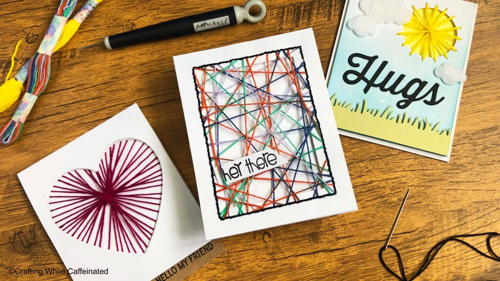 String Art on Handmade Cards is a fun and easy cardmaking technique that anyone can do!