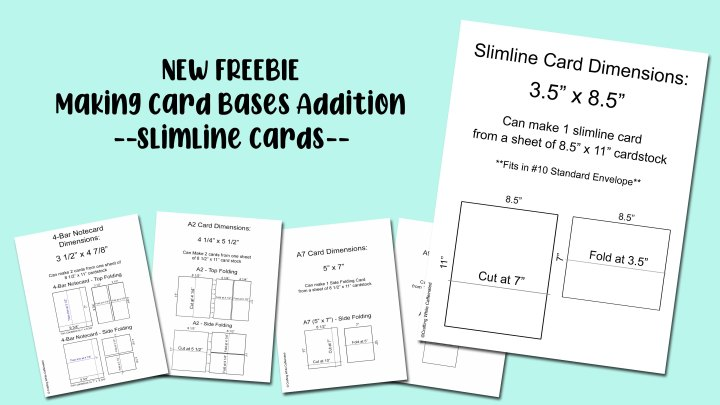 New Addition to the Making Card Bases FreeDownload